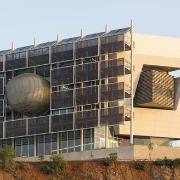 """הבניין האקולוגי של ביה""""ס ללימודי הסביבה ע""""ש פורטר"""